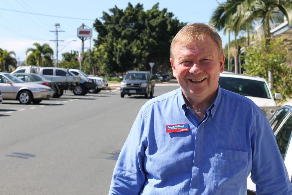 Frank Gilbert, Labor candidate for Dawson.