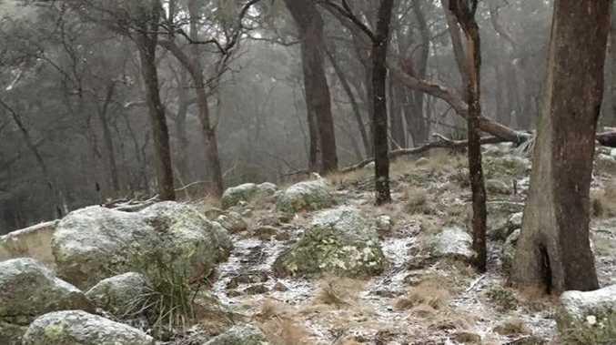 Snow at Mt Mackenzie.