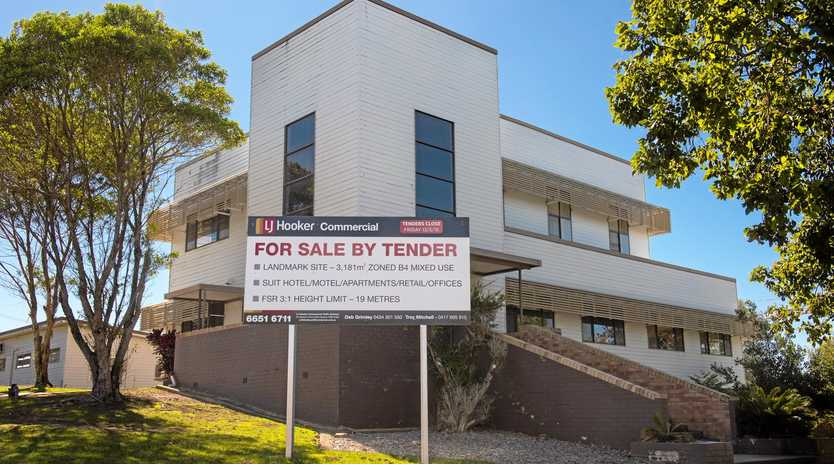 STILL FOR SALE: An offer of $2.25 million has been rejected for the Forestry Corporation's Coffs Harbour headquarters.