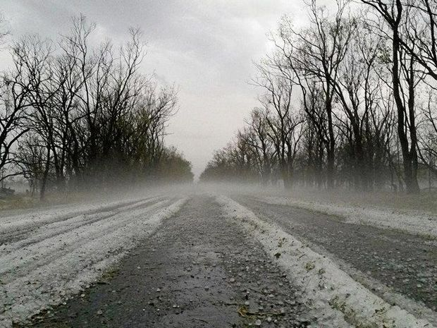 Highway closed due to black ice.