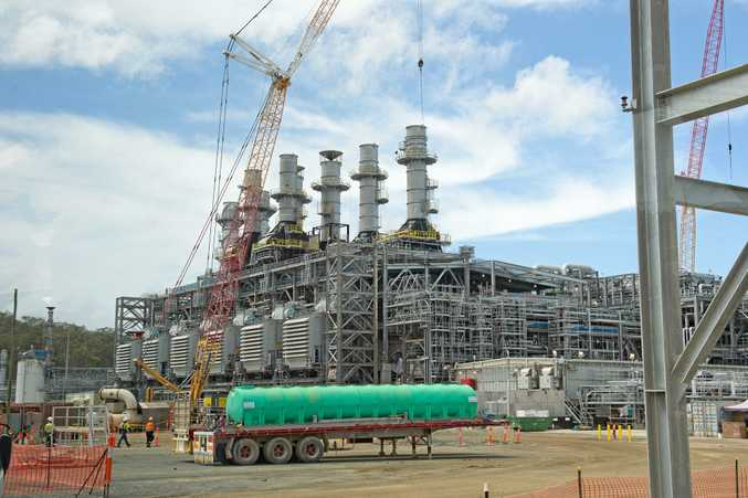 Onsite at Australia Pacific LNG. Photo Mike Richards / The Observer