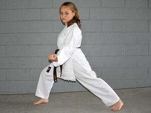 Shotokan Kaitlyn was left with no words