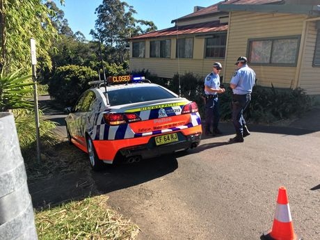 A crime scene has been established at Nimbin this morning.