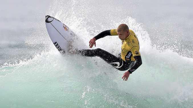 NO FEAR: Australian surfer Mick Fanning in action.
