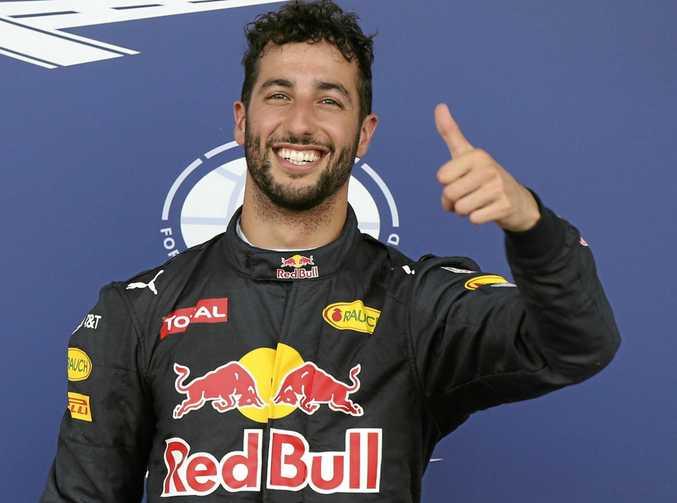 CONTRACT SPECULATION: Red Bull driver Daniel Ricciardo of Australia.