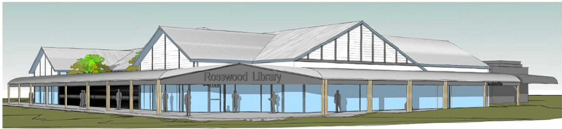 A new library for Rosewood is a step closer with $300,000 set aside for building design in the 2016/17 budget.