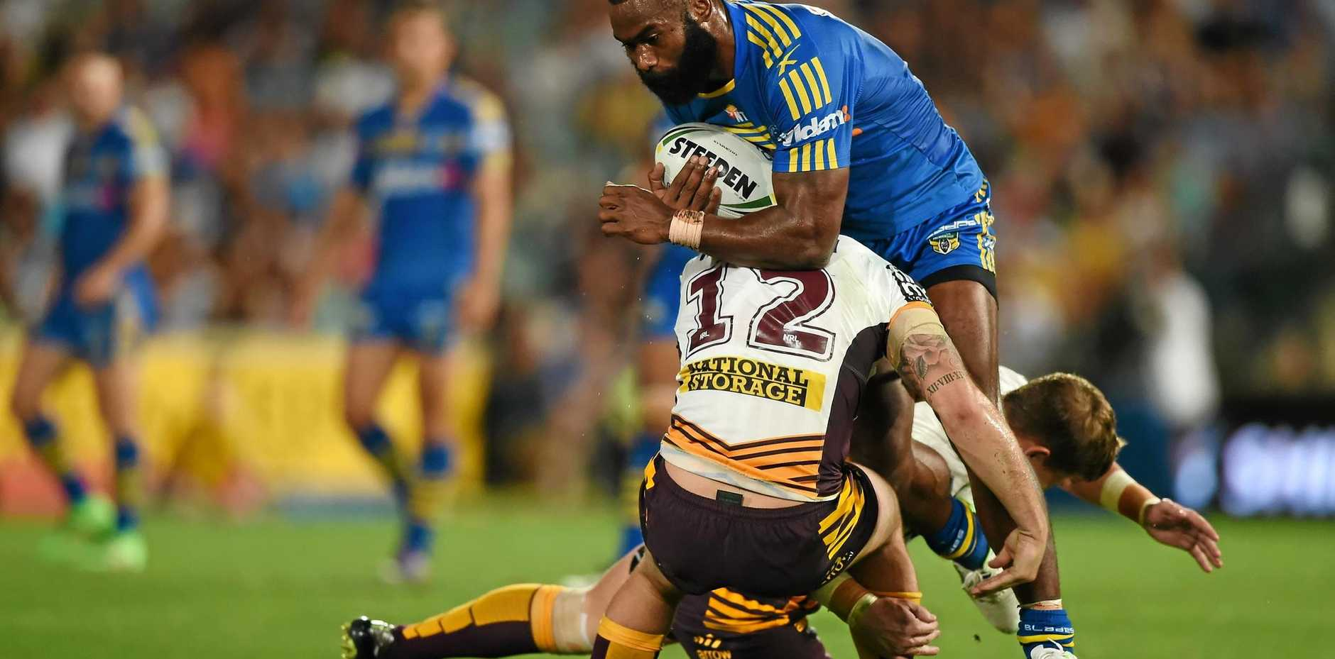 IN DEMAND: Semi Radradra of the Eels has reportedly been offered a big-money move to French rugby.