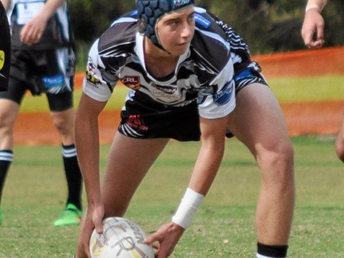 GUIDANCE: Tweed Coast import Owen Fredericks has linked up well with the side from dummy half.