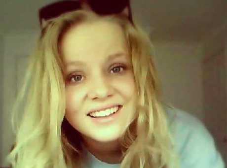 Hope Dell, who was killed when a car driven by her friend, Jameson Mark Routlege, lost control and crashed on Caloundra Rd, Caloundra, on December 11, 2014.