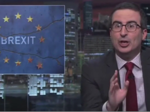 BREXIT: The best damn rant from comedian John Oliver