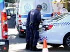 Police undertook a drug raid on the streets of Nimbin this morning.