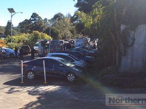 Police raid on Nimbin