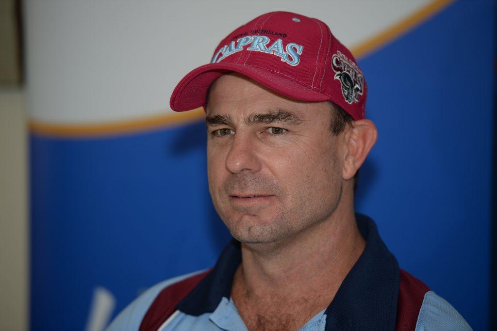 Capras coach, Kim Williams. Photo Allan Reinikka / The Morning Bulletin