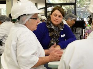 Blair candidate visits meatworks
