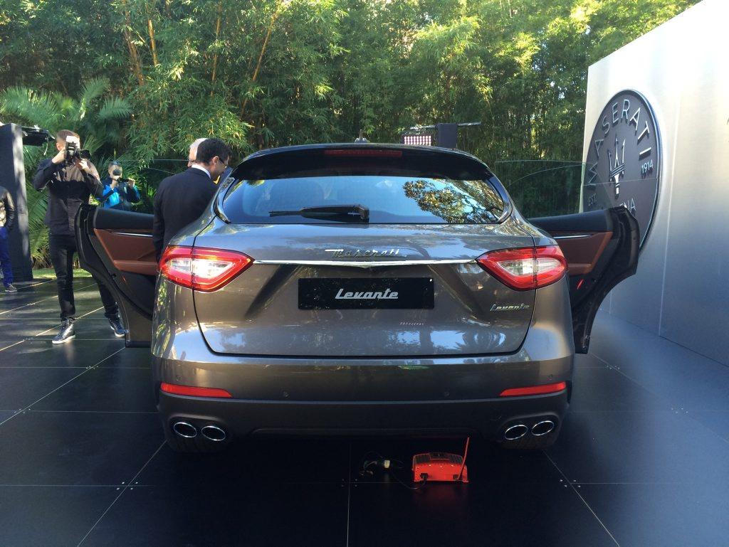 Sydney reveal of Maserati's new Levante SUV. Photo: Iain Curry / Sunshine Coast Daily