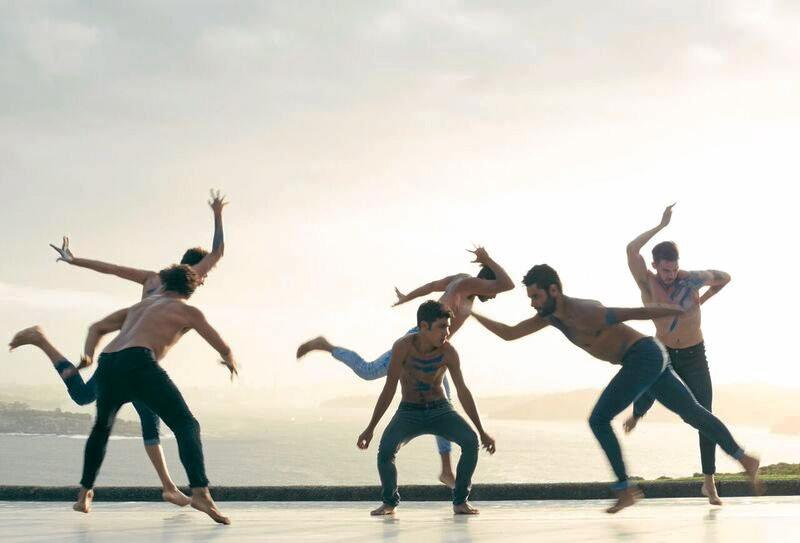 Stills from the acclaimed feature 'SPEAR' directed by Bangarra Dance Theatre's artistic director and choreographer Stephen Page and produced by John Harvey