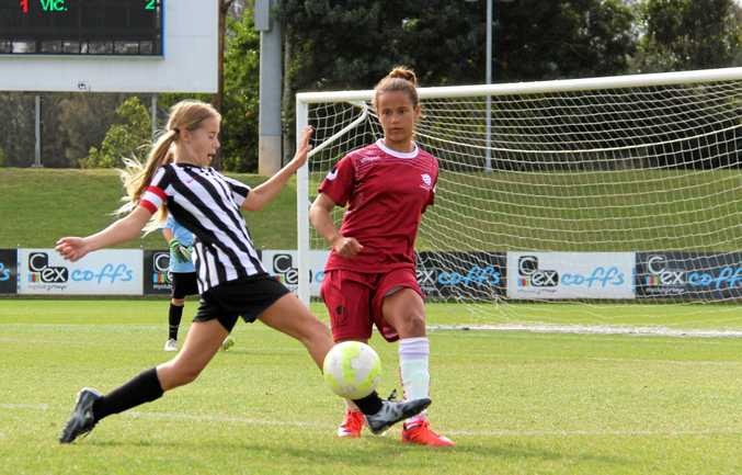 WELCOME BACK: The Westfield National Youth Championships for Girls at C.ex Coffs International Stadium.