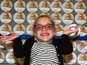 Amelia's big heart captures campaign
