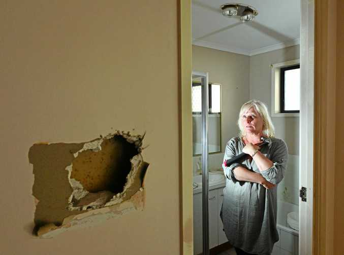 Landlord Joanne Kerse is distraught that her house has been trashed by a tenant.