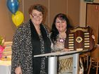 LIONS ROAR: Outgoing president Julianne Shipway with Lion of the Year Colleen Walker.