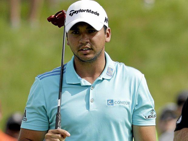 VIRUS FEARS: Jason Day, of Australia, during last month's US Open at Oakmont.