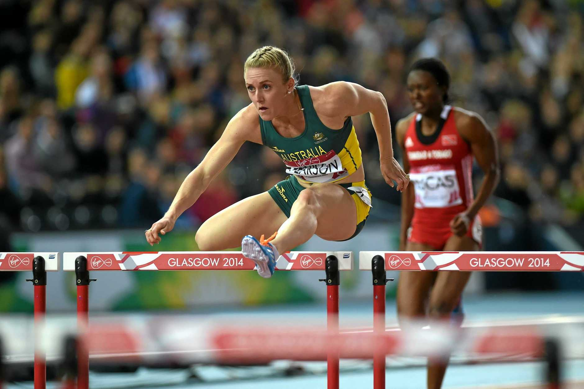 Australian Sally Pearson has a hamstring injury.