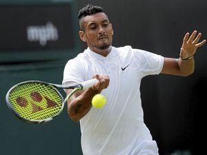 Giant-killer awaits Kyrgios at Wimbledon