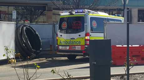 Emergency services at Rose City Shoppingworld.