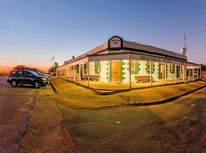 The Birdsville Hotel...the pickled snakes are fascinating.