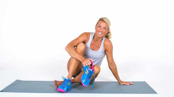 Nikki Fogden-Moore's express workout for those who spend most of their day sitting.