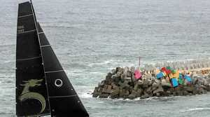 Line honours go to Beau Geste in the 2016 Club Marine Pittwater To Coffs Harbour Yacht Race.