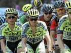 BIG CHANCE: Alberto Contador (centre) will be out to add to his 2007 and 2009 Tour de France wins.
