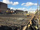 $10 million office building on track despite big wet