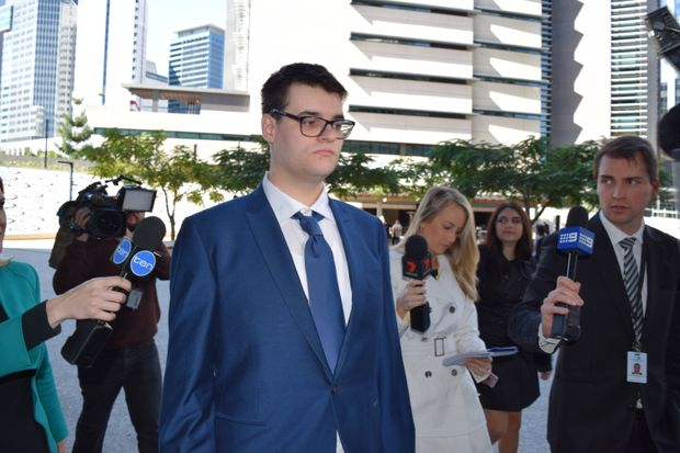 Shane Stephen Duffy at the Brisbane Supreme Court. Picture Pam Frost.