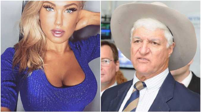 Tamara Candy (left) and Bob Katter (right)