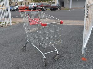 Shoppers beware of trolley collisions, especially on Fridays