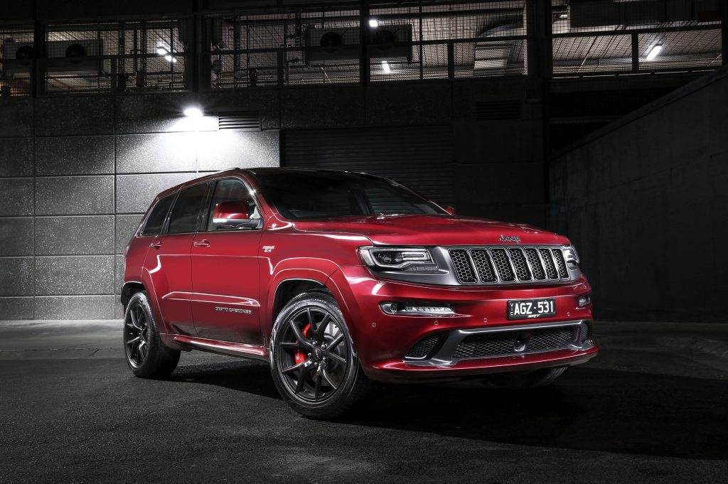 Jeep Grand Cherokee SRT Night.