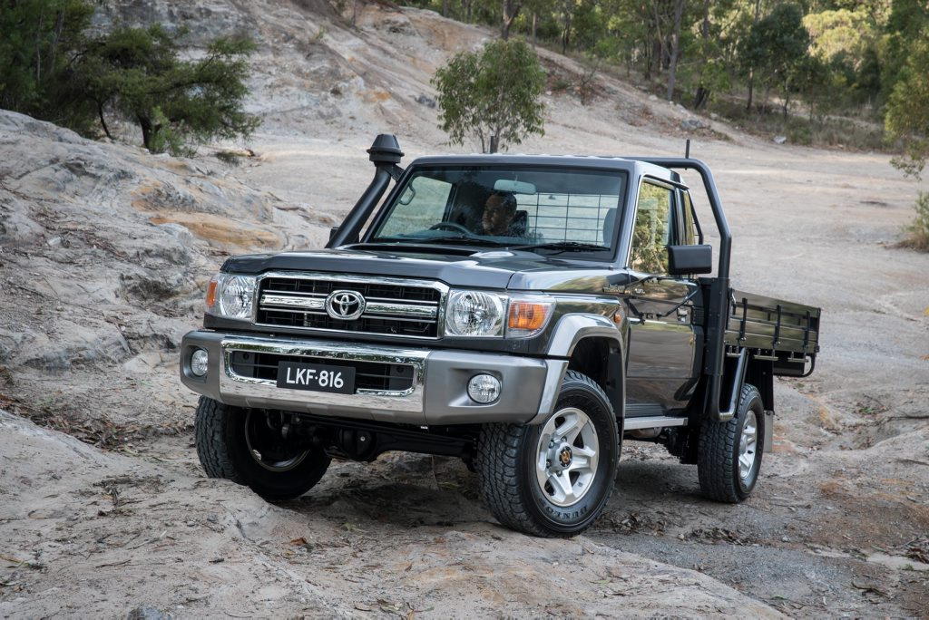 TOUGH AS: Stronger with a stiffer frame, new safety and suspension tune for rural favourite LandCruiser 70.