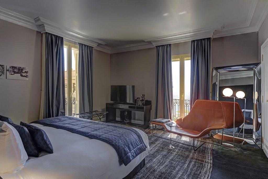 Maserati Suite, Hotel de Paris, Monaco. Photo: Contributed