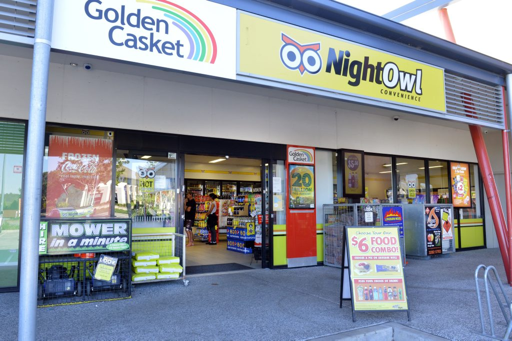 Night Owl Redbank Plains was held up at knife point overnight.