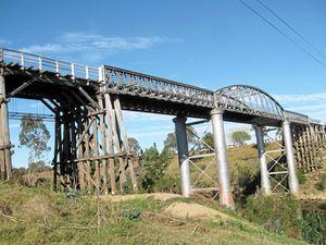 Historic Dickabram 'bridging' the generations