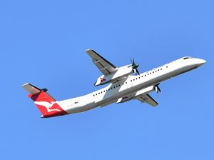 Mid-flight scare for Qantaslink passengers