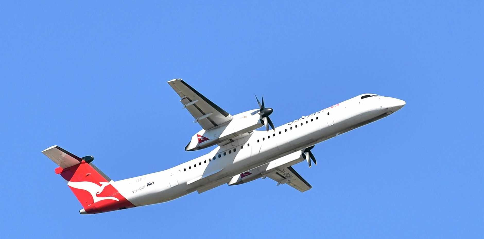 FLIGHT TROUBLE: A Qantaslink aircraft from Sydney made a priority landing in Coffs Harbour last night after reports of instrument failure.
