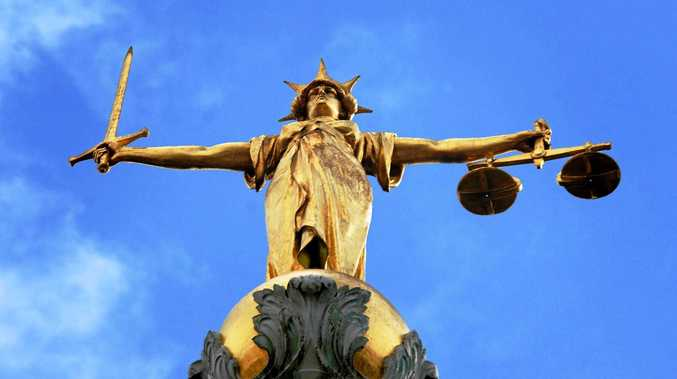 Alleged domestic offender shows magistrate his own scars in court