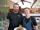 NEW MANAGEMENT: Boardwalk Bistro owner Shane Harvey and head chef Gene Quinlan.