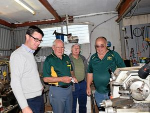 Littleproud commits $147k for new Men's Shed in Roma