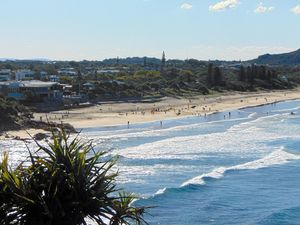 Coolum: where the sun shines and voters don't sweat on who wins the election
