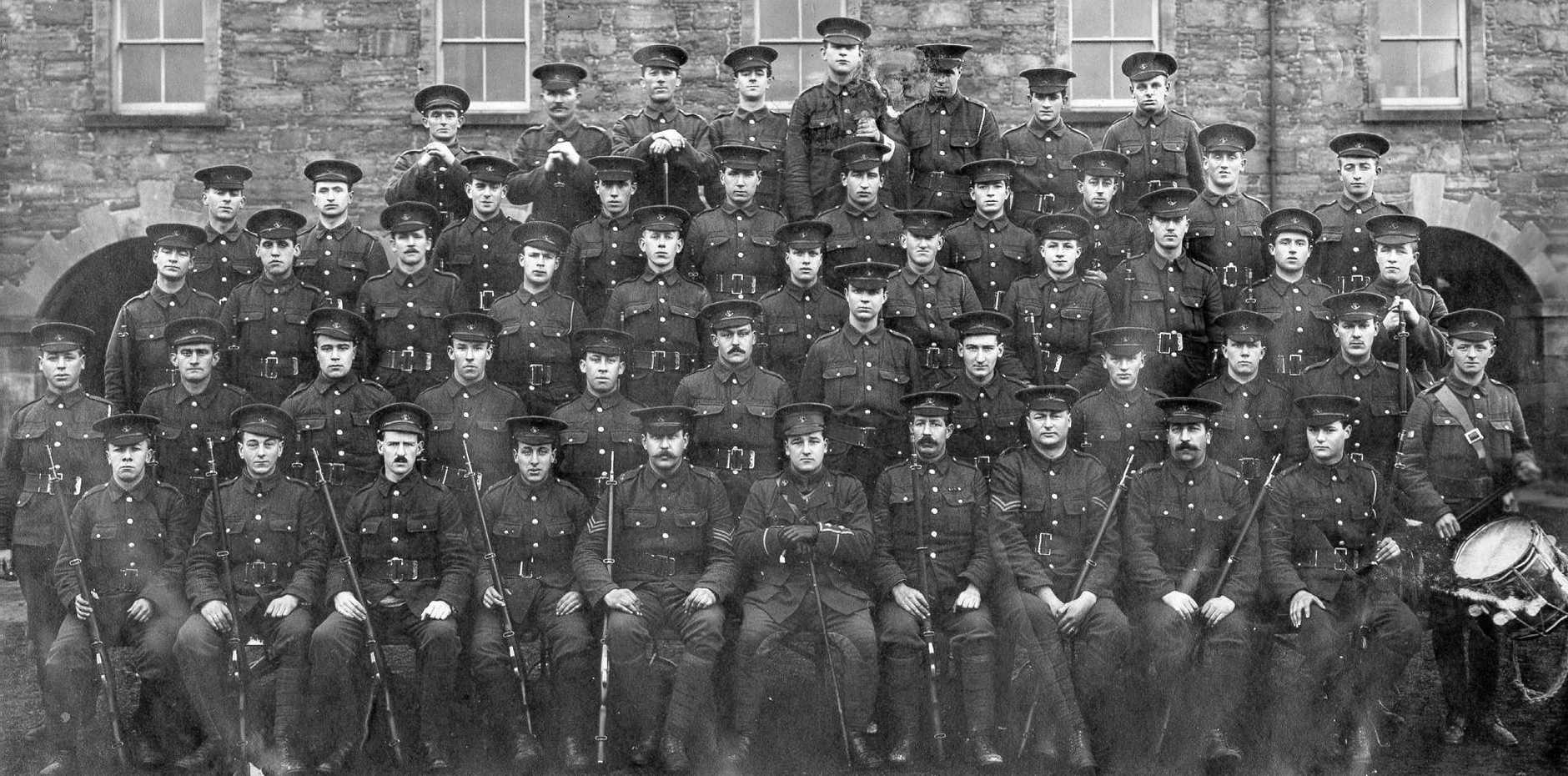 A photo of the Newfoundland Regiment