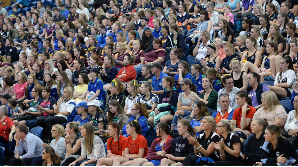 About 600 people packed in to see The Cathedral College's historic victory yesterday.