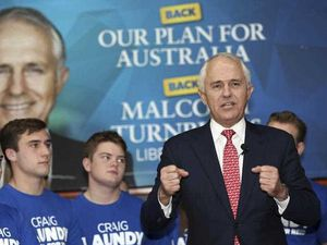 Bookies have Turnbull as favourite to win election